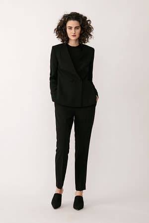 Stylein - Bailey Blazer - Black - Front