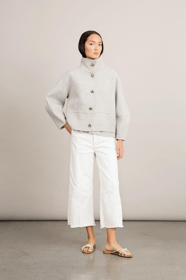 Stylein - Taormina Jacket - Light Grey - Front