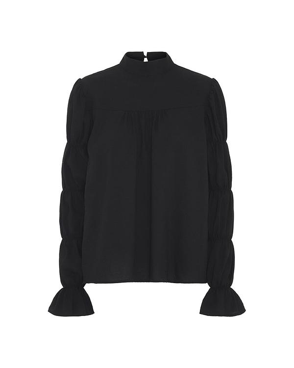 HunKøn - Arlette Shirt - Black - Front